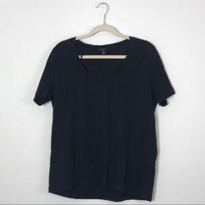 COS Black Short Sleeve T-Shirt
